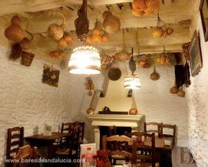 Salón en La Alacena en Capileira