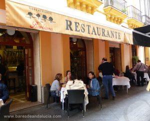 Terraza de El Barbiana en Sevilla