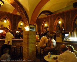 Interior Bar La Bodeguita en Vejer